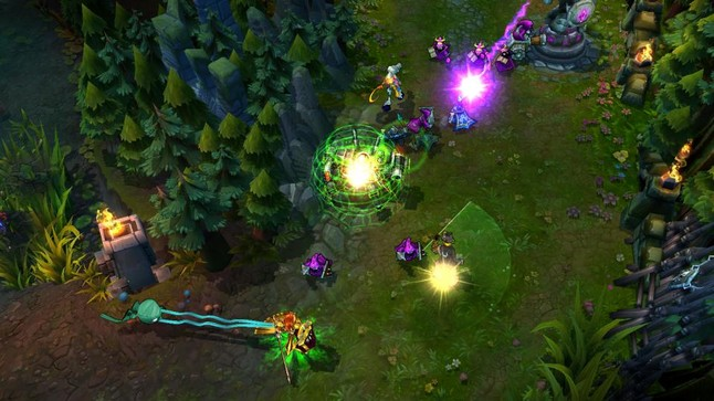 Captura del juego League of Legends.