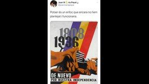 Societat Civil Catalana denuncia el 'dircom' d'Interior per «incitació a la violència»