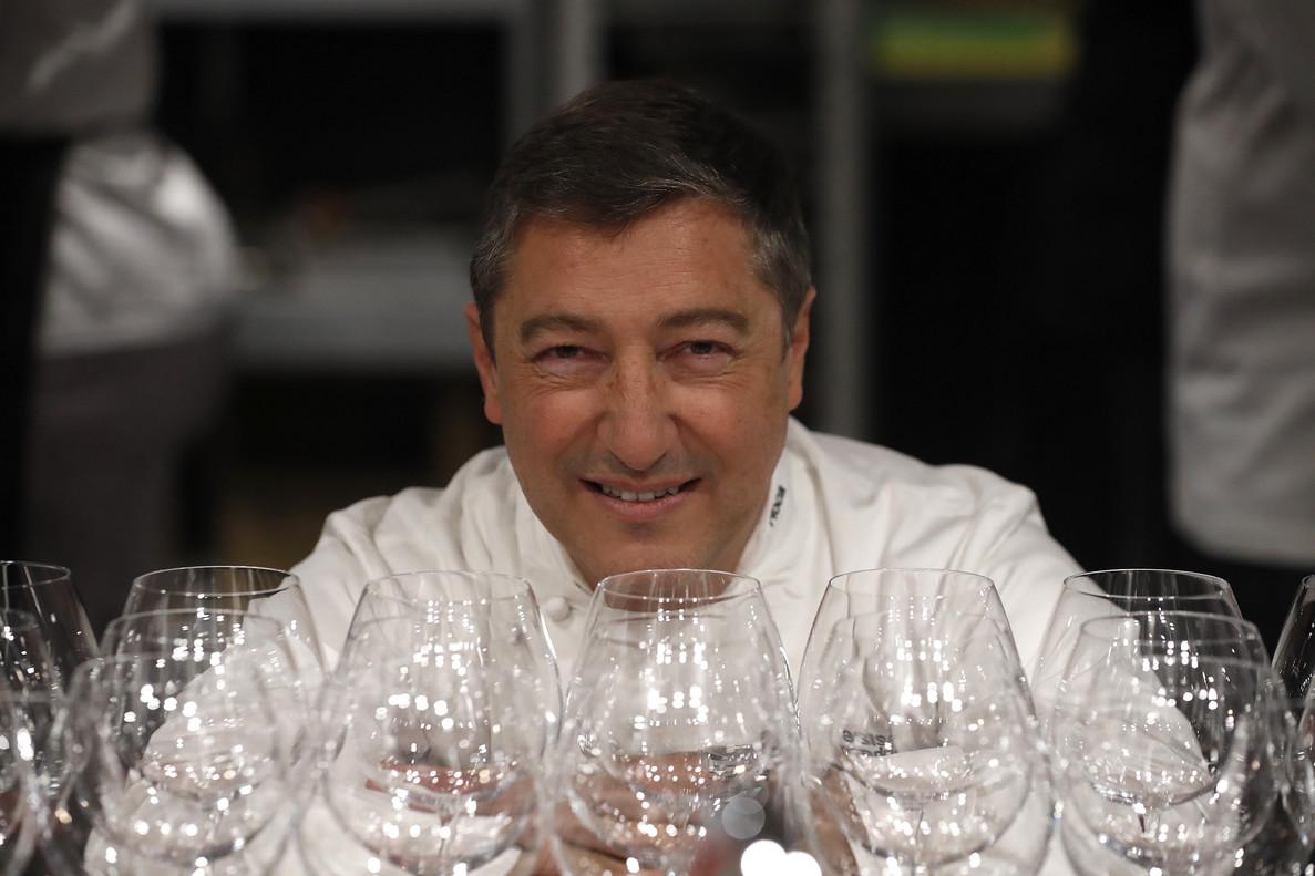 El cocinero Joan Roca, durante la jornada inaugural de la XV edición de Madrid Fusión, a finales del pasado enero.