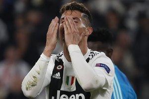 Cristiano Ronaldo, el martes.