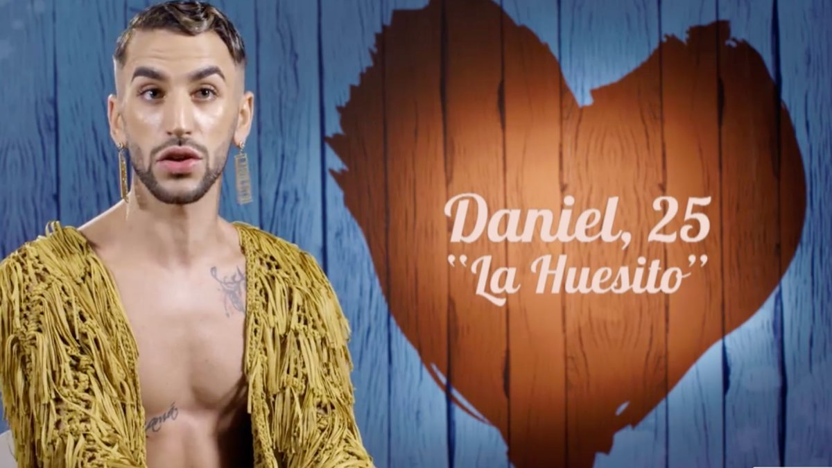 Daniel 'La Huesito' en 'First Dates Crucero'.