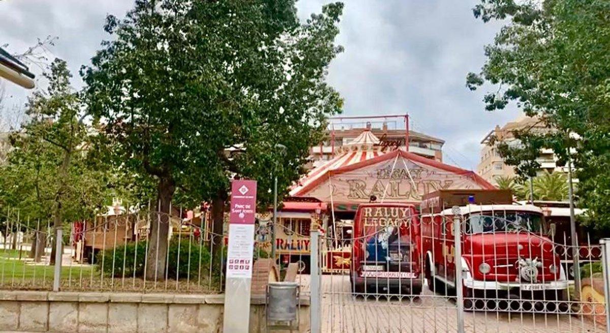 Com viu la gran 'família' del circ Raluy Legacy confinada a les seves caravanes