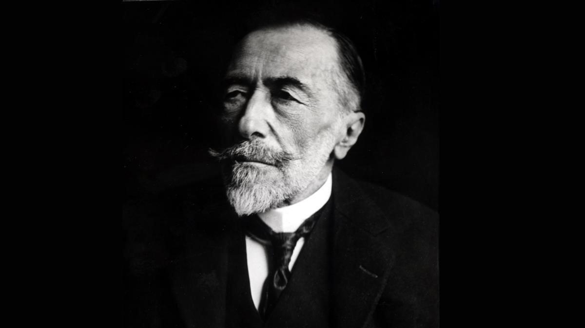 El escritor británico de origen polaco Joseph Conrad.