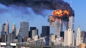 Explosión en las Torres Gemelas de Nueva York el 11-S.
