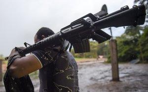 La guerrilla colombiano, un mal de los últimos años.