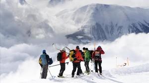 Moren tres esquiadors espanyols en una allau a Suïssa