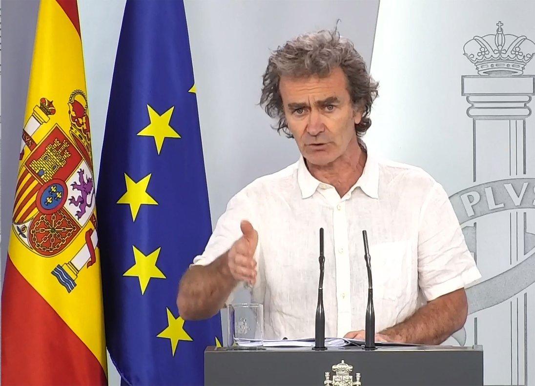 Fernando Simón, en una comparecencia.