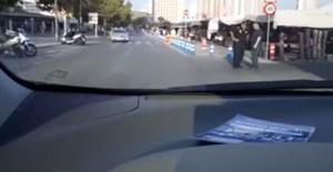 Fotograma del vídeo grabado por Rafael Gasent, portavoz de Ciudadanos en Benidorm.