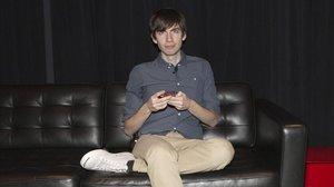 El fundador de Tumblr,David Karp.