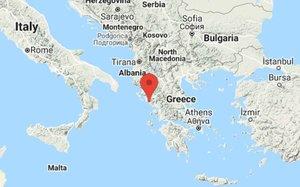 Se reportó un fuerte sismo en Grecia.
