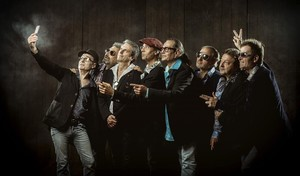El grupo Los Manolos, tras anunciar su regreso por el 25º aniversario de los Juegos Olímpicos de Barcelona.