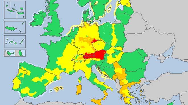 L'onada de fred polar d'Europa arriba a Espanya