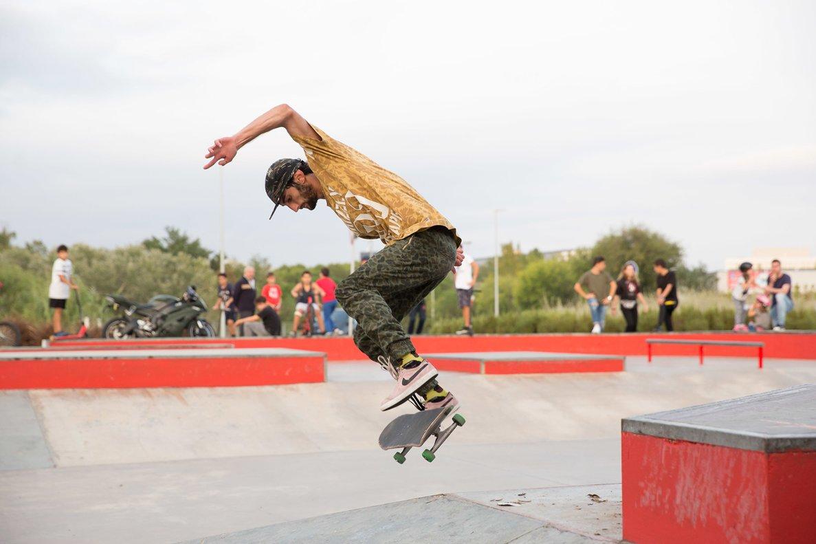 Rubí amplia l''skatepark' de Can Sant Joan