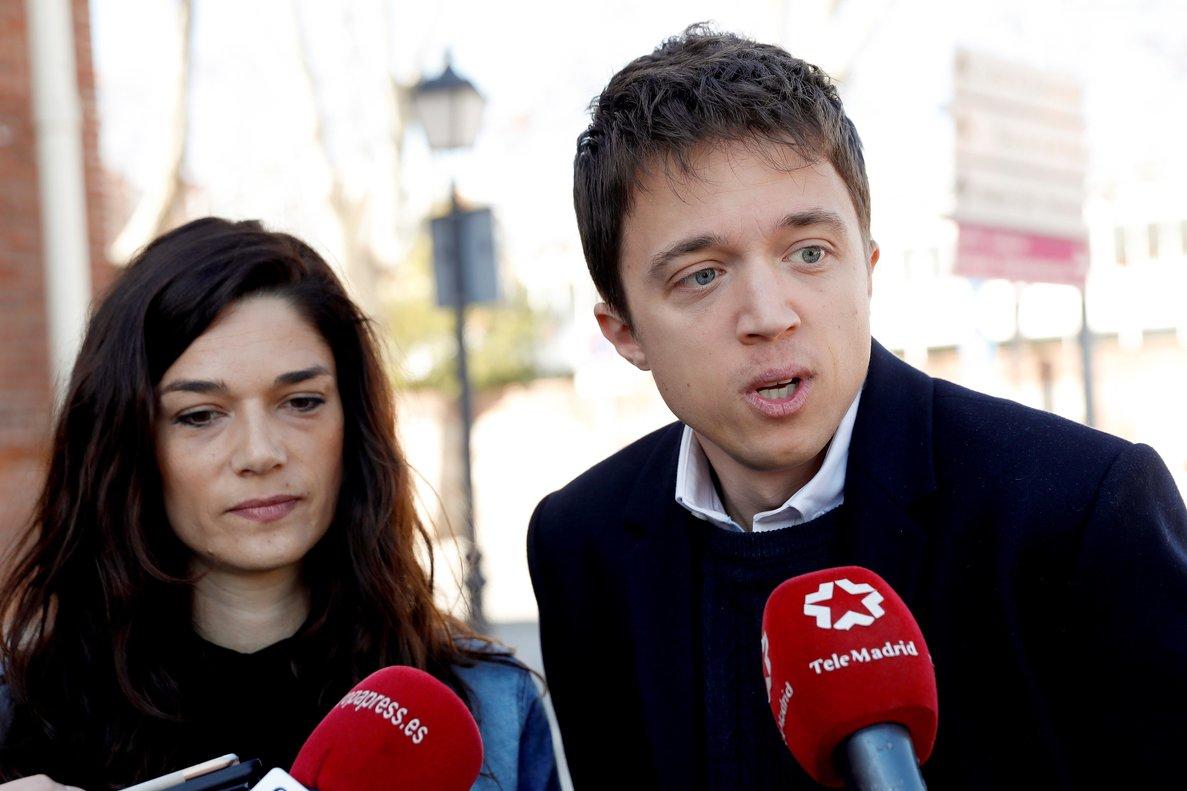 Iñigo Errejón y Clara Serra, el pasado marzo en Madrid.