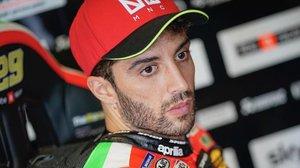 El italiano Andrea Iannone, piloto de Aprilia que ha dado positivo en un control antidopaje.