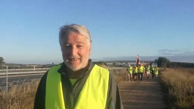 Javier Martinez jubilado que marcha a Madrid