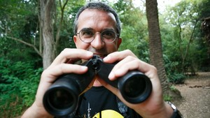 """Pere Alzina: """"Una pareja de halcones se come 2.000 palomas al año"""""""
