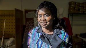 Deye Fatou, exmantera que trabaja en la cooperativa DiomCoop.