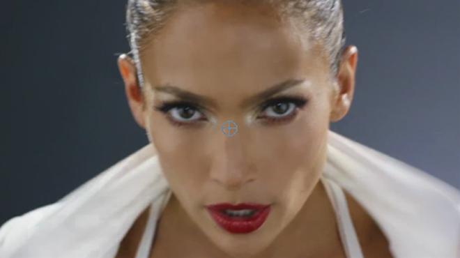 Jennifer Lopez presenta lavançament del seu vídeo Booty.