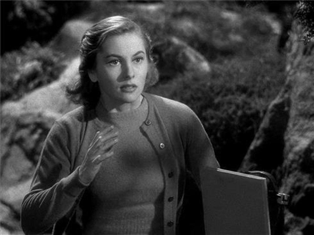 Joan Fontaine en la película 'Rebeca'.