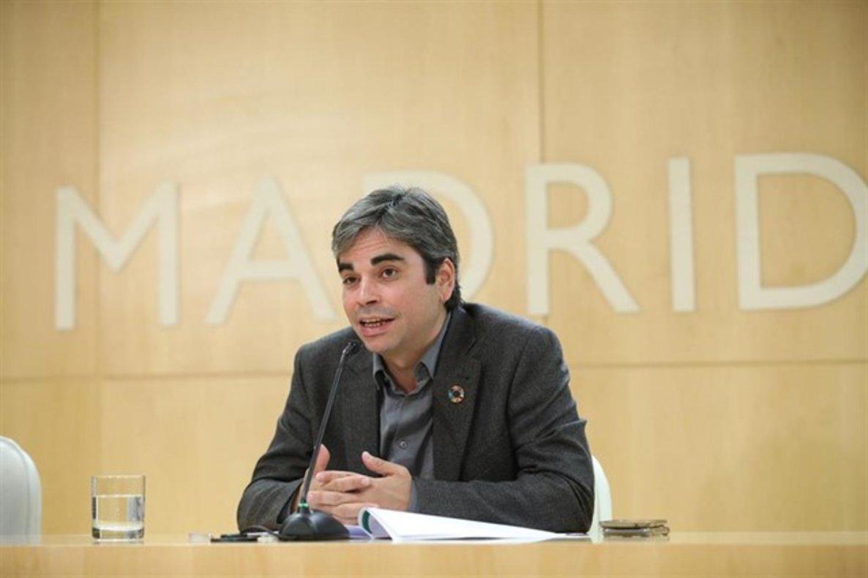 El delegado de Economía y Hacienda, Jorge García Castaño.