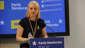 Maria Senserrich, de JxCat, a quien la JEP ha otorgado el escaño de Torra
