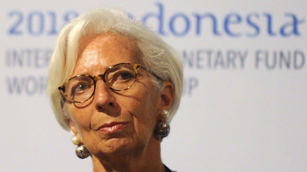 Lagarde deixarà l'FMI el 12 de setembre