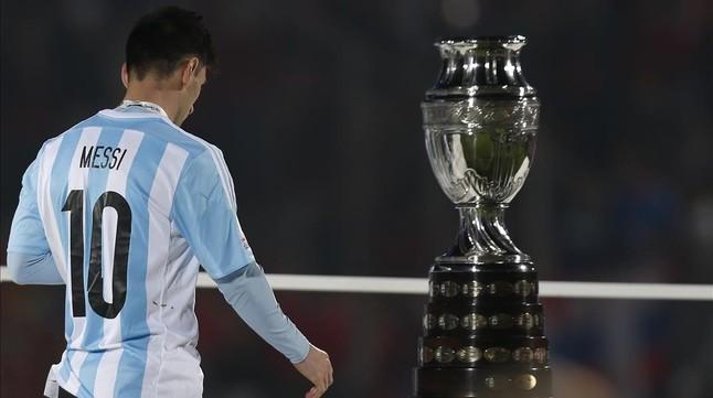 Leo Messi, tras perder la final de la pasada edición