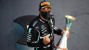 Lewis Hamilton (Mercedes) domina en el GP de España