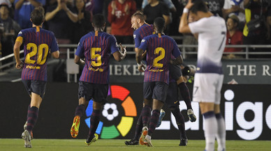 El Barça empata y Arthur deslumbra