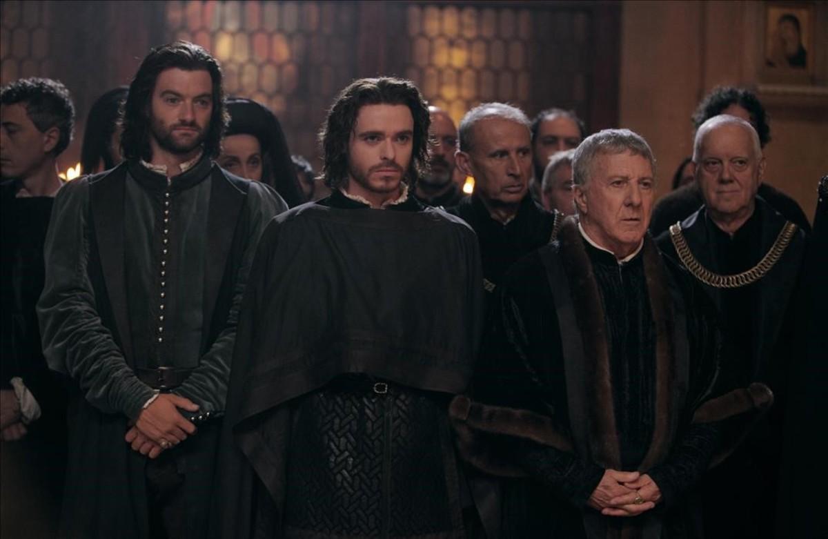 Secuencia de la serie 'Los Medici: Señores de Florencia', cuyo creador, Frank Spotnitz, visitará el festival de Movistar +.,