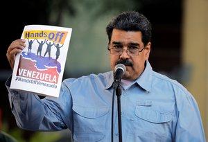 El presidente de Venezuela, Nicolas Maduro, quiere paz para su país. FotoCarlos Barria