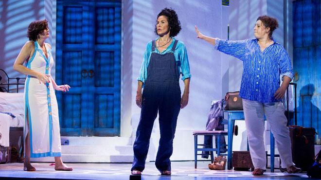 Mamma Mia!, ensayos en el Tívoli