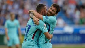 Messi 'renova' al camp