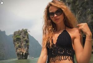 La modelo bielorrusaAnastasia Vashukévich,más conocida como Nastia Ribka en Instagram.