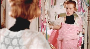 Molly Ringwald, en un fotograma de 'La chica de rosa'