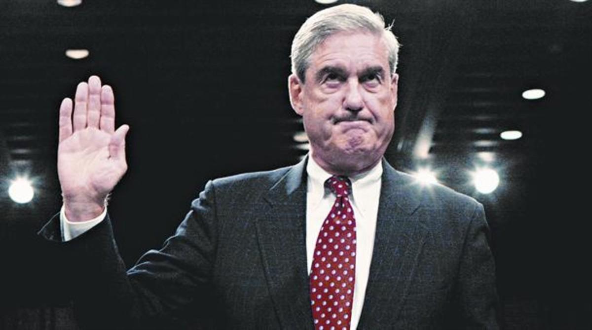 Mueller, antes de testificar ante el Comité Judicial del Senado en el 2008.