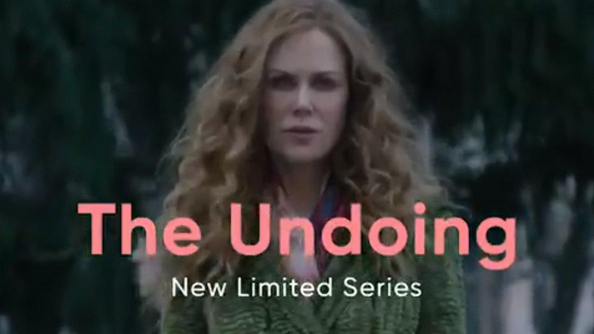 Nicole Kidman, en en tráiler de 'The undoing', una de las nuevas series de HBO.