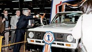 Primer Nissan Patrol en Zona Franca en 1983.