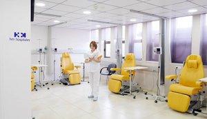 El nuevo centro de Barcelonaofrece tratamientos de vanguardia.