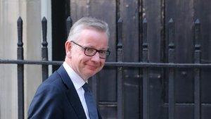 El número dos del Gobierno británico, Michael Gove.
