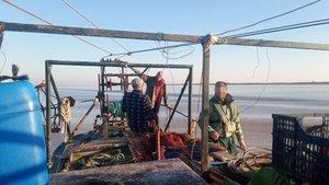Operación de la Guardia Civil contra la pesca ilegal de angulas.