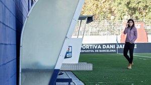 Paloma Fernández, capitana del Espanyol, confirmó la incomparecencia de las futbolistas porla huelga de las futbolistas.
