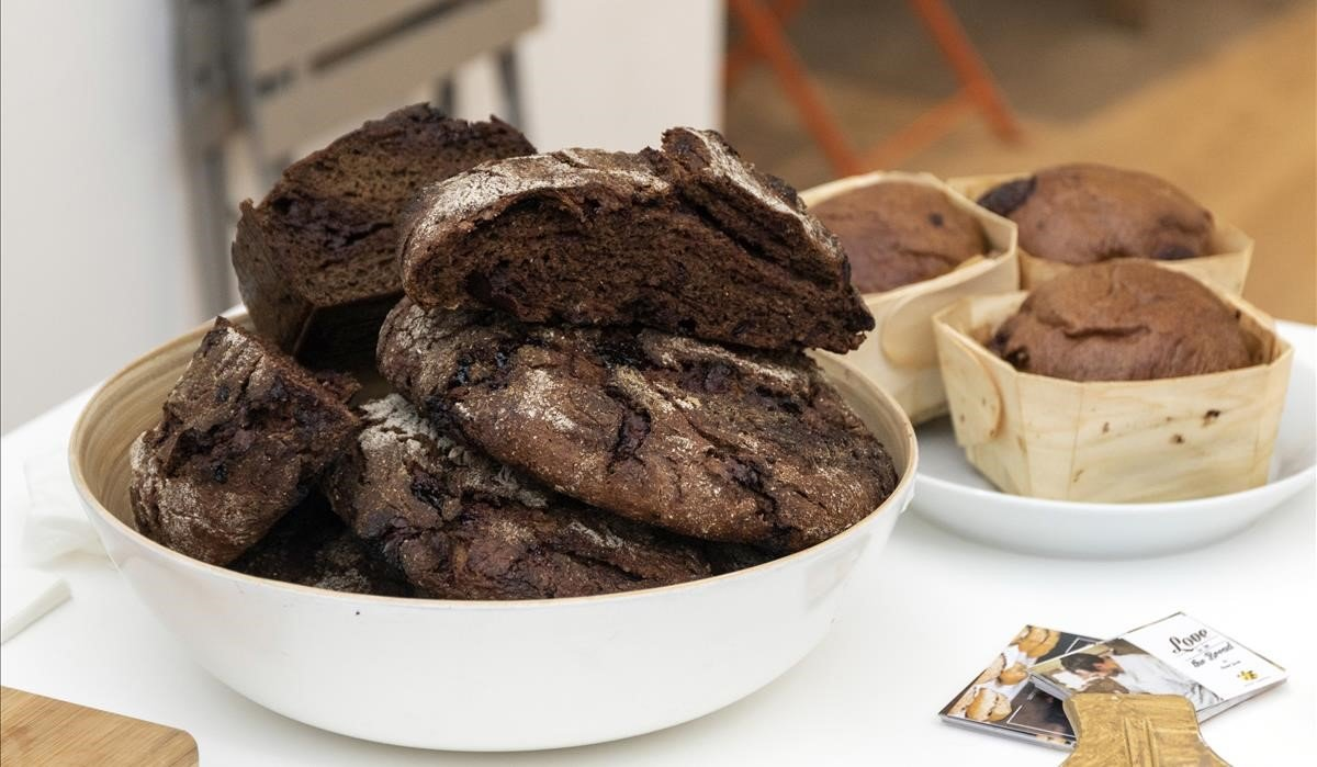 Pan de centeno con chocolate y licor de café especiado de Degré.