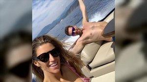 Pau Gasol y Catherine McDonnell, de luna de miel en la costa Italiana.