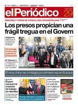La portada de EL PERIÓDICO del 29 de enero del 2020