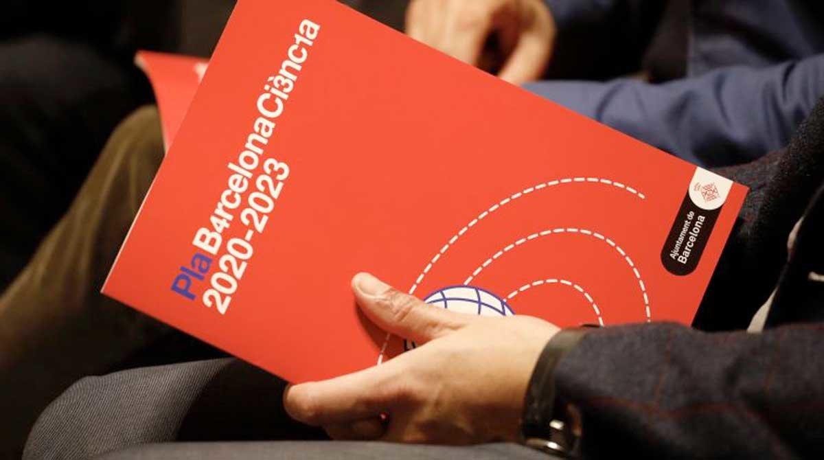Presentación del plan Barcelona Ciencia 2020-2023.