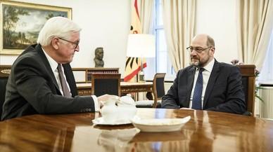 Los socialdemócratas acuerdan mantener abiertas las negociaciones con Merkel