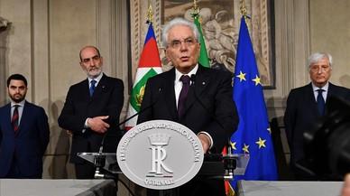 La UE cierra filas con Matarella y pide un Gobierno estable