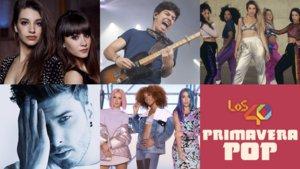 Aitana, Ana Guerra, Alfred Garcia, Lola Índigo i Blas Cantó actuaran a Los 40 Primavera Pop 2019